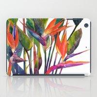 The bird of paradise iPad Case