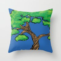 Tree Love Throw Pillow