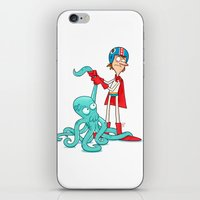Octo-Wrestlin'! iPhone & iPod Skin