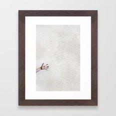 helpless. Framed Art Print