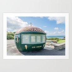 The Big Apple, Swansea Art Print