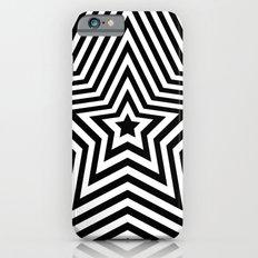 Stars - black & white vers. iPhone 6s Slim Case