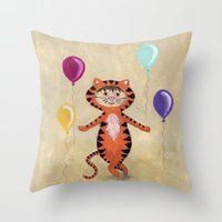I'm A Tiger - Rooooaaarr… Throw Pillow
