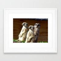 The Three of Us Framed Art Print