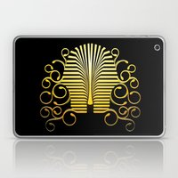 Pharaoh Mask Laptop & iPad Skin