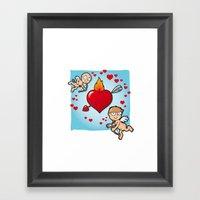 Cupid's Dart Framed Art Print