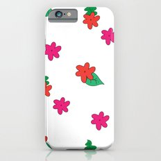 little pink flowers iPhone 6s Slim Case