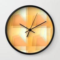Sunshine Ripples Wall Clock