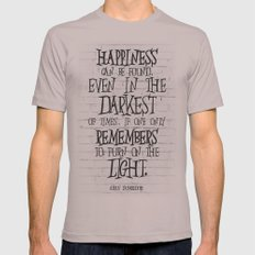Albus Dumbledore Quote Inspirational Mens Fitted Tee Cinder SMALL