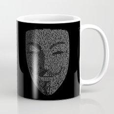 ...You May Call Me 'V' – So who's Anonymous? Mug