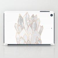 White Crystals iPad Case