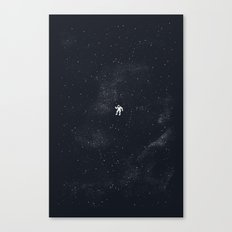 Gravity - Dark Blue Canvas Print
