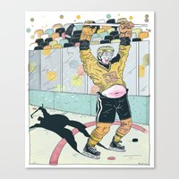 Hockey for the Rest of Us! Canvas Print