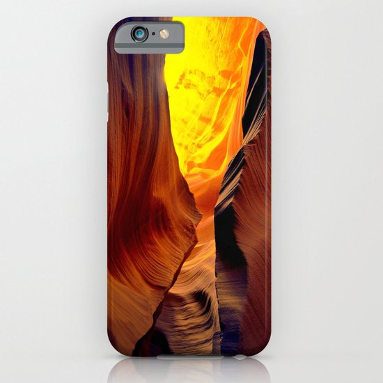 Magic pass.  Low Antelope Canyon, Arizona iPhone & iPod Case