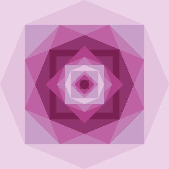Shades of pink Art Print