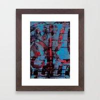 disquiet nine (uma confiança quebrada) Framed Art Print