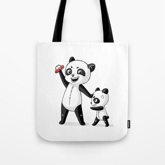 Panda Brothers Tote Bag