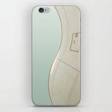 wavy wall iPhone & iPod Skin