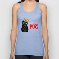 The Notorious P.U.G. Unisex Tank Top