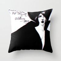 Miss Lucy Throw Pillow