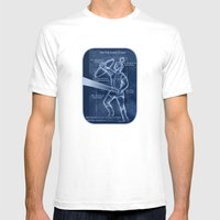 Full Armor of God - Warrior 4 Mens Fitted Tee White SMALL