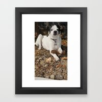 whats it to you? Framed Art Print