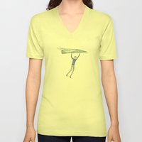 Hang On To Your Paper Ai… Unisex V-Neck