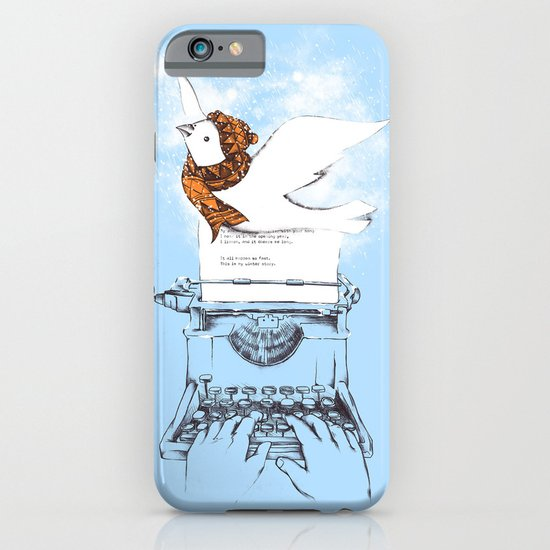 My Winter Article iPhone & iPod Case