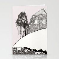 St. Vigeans (black And W… Stationery Cards