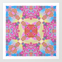 Mix&Match  Spring Love 0… Art Print