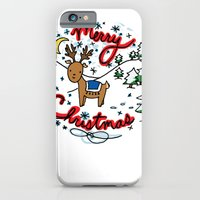 Reindeer Fun iPhone 6 Slim Case