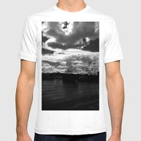 Atom Bomb Mens Fitted Tee White SMALL