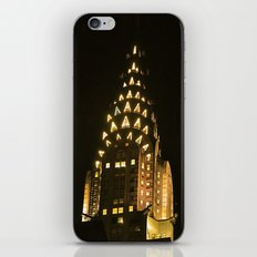 Chrysler Building at Night iPhone & iPod Skin