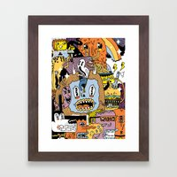 The Escape Plan Framed Art Print