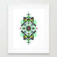 ::: Space Rug3 ::: Framed Art Print