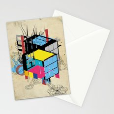 Rubik's building - Vienna 2044 Stationery Cards
