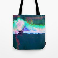 18-23-46 (Skyline Cloud Glitch) Tote Bag