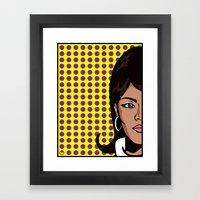 Lana Kane Of ISIS... Framed Art Print
