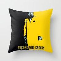 Breaking Bad Knocking Throw Pillow