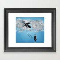 Defying Gravity Framed Art Print