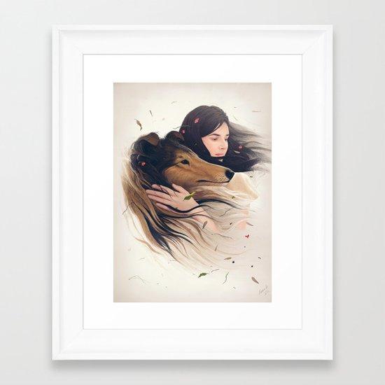 Antaeus Framed Art Print