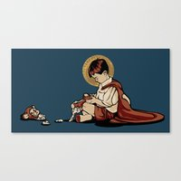 Some Things Can't Be Sav… Canvas Print