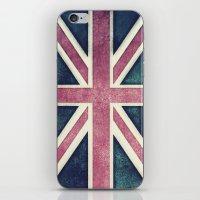 Flag Of The United Kingd… iPhone & iPod Skin