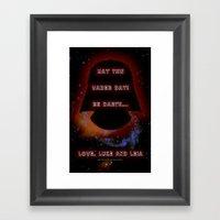 Vader Day - 023 Framed Art Print