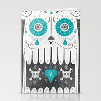 SALVAJEANIMAL MEX cuernitos Stationery Cards