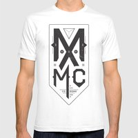 MXMC Mens Fitted Tee White SMALL