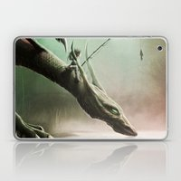 Fishing On The Drinking Dragon Laptop & iPad Skin