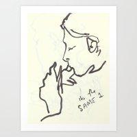 20 8 Art Print