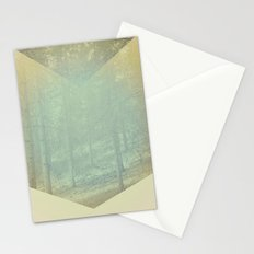 Chevron Forest Stationery Cards