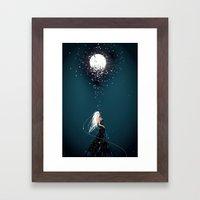 Can I keep the Moon Framed Art Print